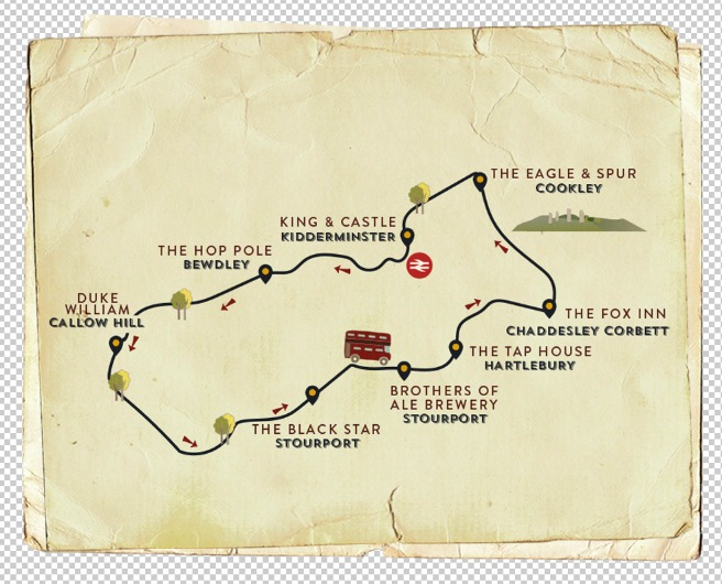 Wyre Ale Trail 25th Sept